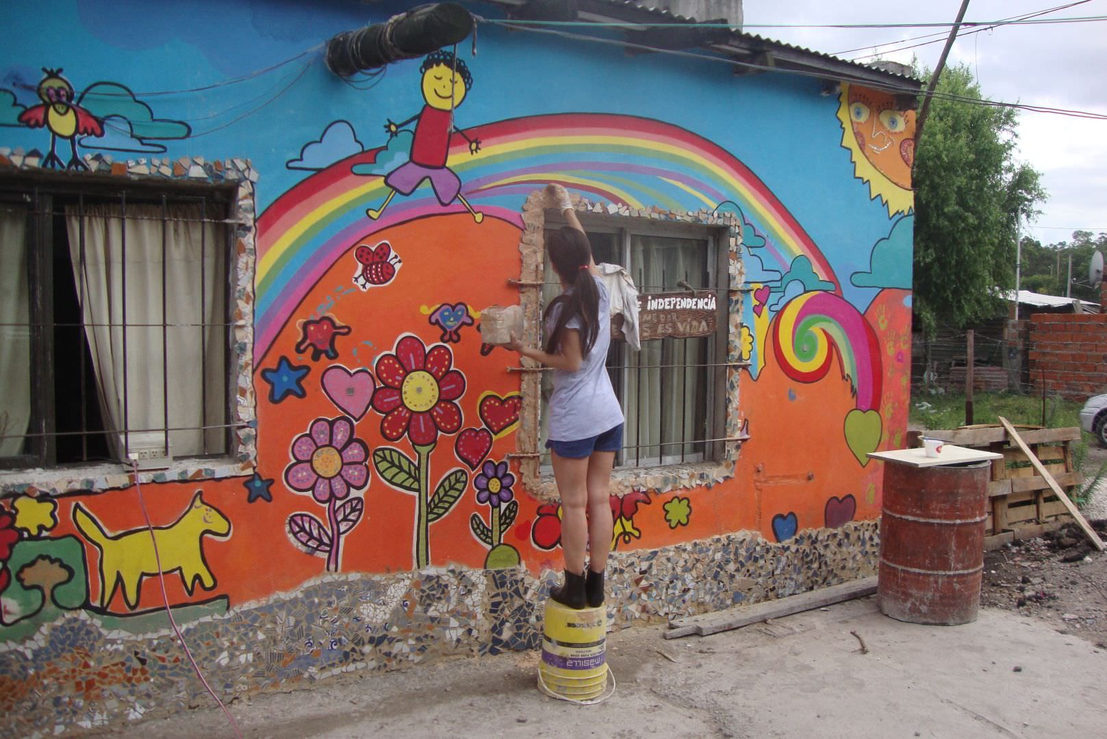Colaboran con un comedor infantil de parque independencia for Proyecto de comedor infantil