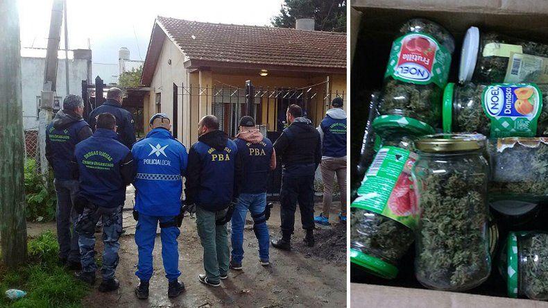 Operativo Moño Blanco: detienen a cinco personas por tráfico de drogas