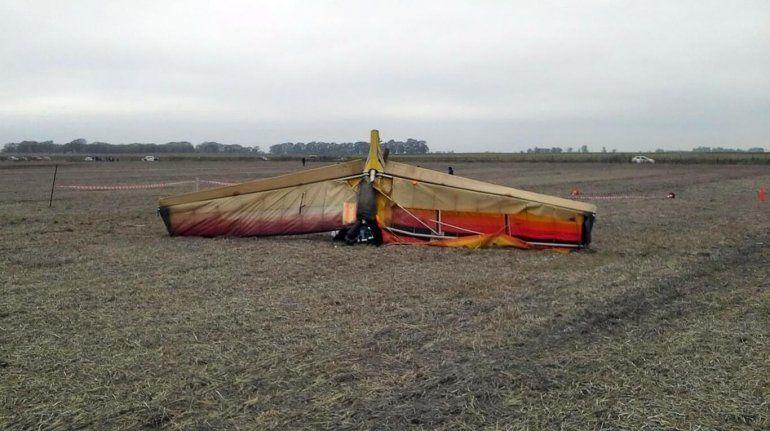 Otra tragedia aérea: cayó un avión y murió el piloto