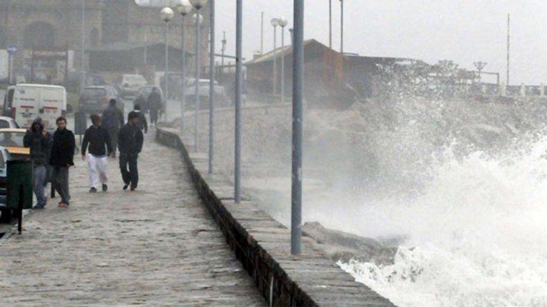 La zona norte de la ciudad, la más afectada por la tormenta