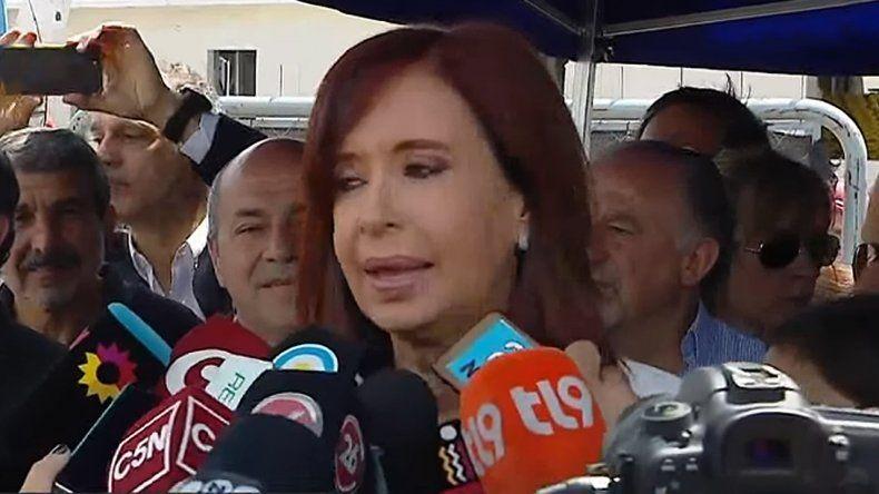 Los tuits de Cristina Fernández de Kirchner tras el discurso de Mauricio Macri