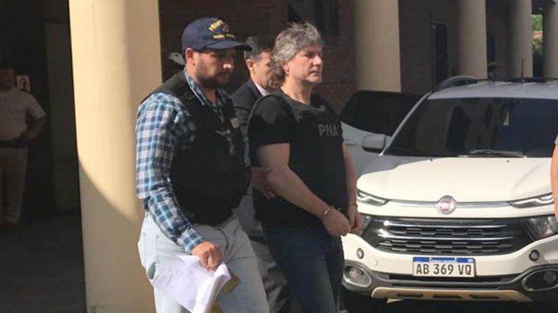 Boudou se entregó en Comodoro Py y volvió a prisión