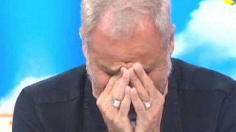 """La angustia de Jorge Rial: """"Se me estruja el corazón"""""""