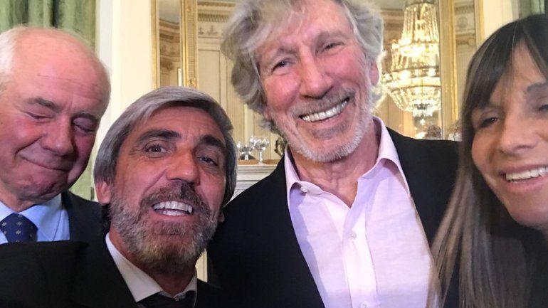 Emotivo encuentro: ex combatiente marplatense se reunió con Roger Waters