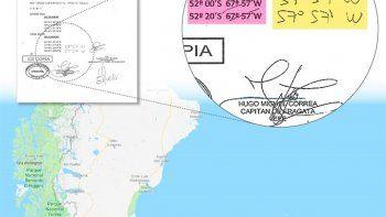 Un documento de la Armada revela que el ARA San Juan habría pasado cerca de las Islas Malvinas