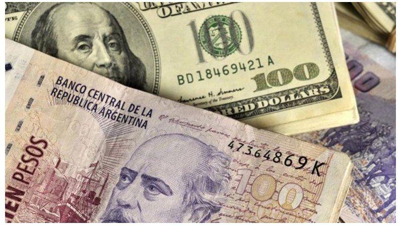 El dólar cae por debajo de los 38 pesos en el Banco Nación