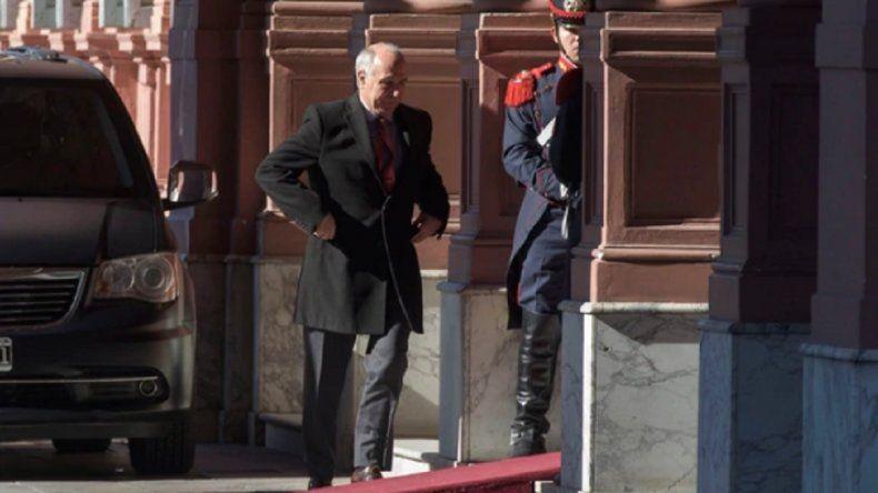 Macri se reunió con Lorenzetti en la Casa Rosada