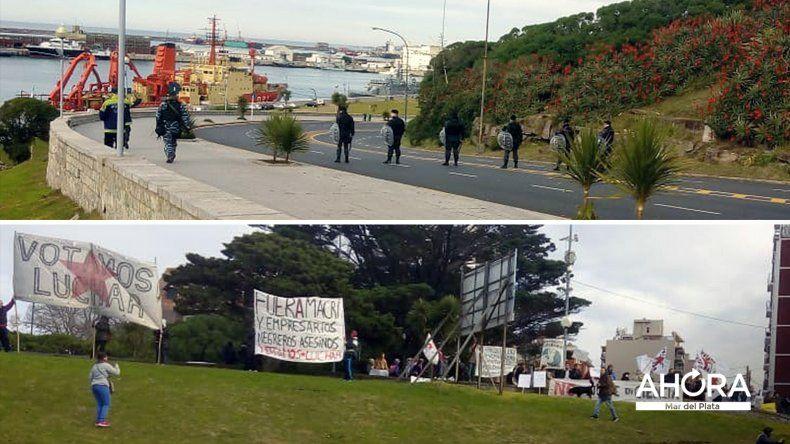 Científicos y agrupaciones de izquierda se manifestaron contra Macri