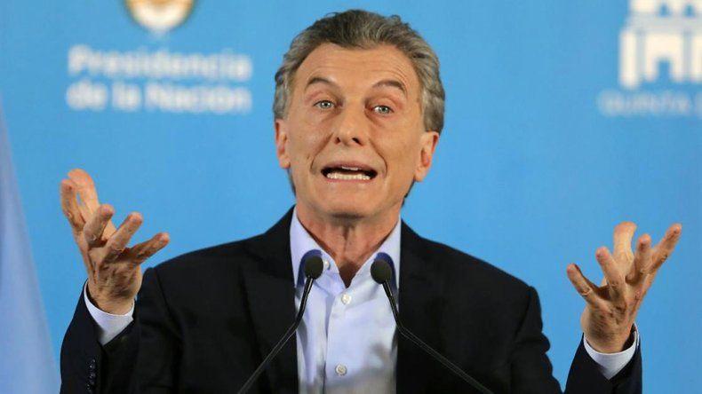 """Macri, sobre el escándalo de corrupción: """"Necesitamos que no haya impunidad"""""""