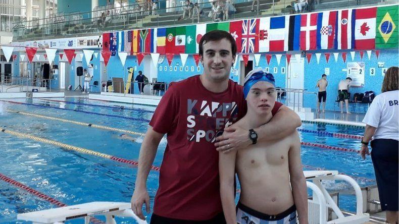 Un marplatense ganó la medalla plateada en el Mundial para personas con Síndrome de Down