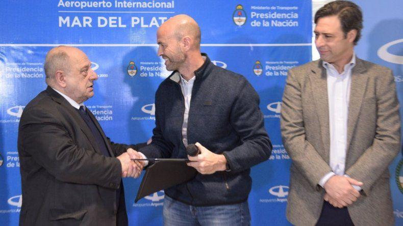 Invertirán 200 millones de pesos para remodelar el aeropuerto Astor Piazzolla