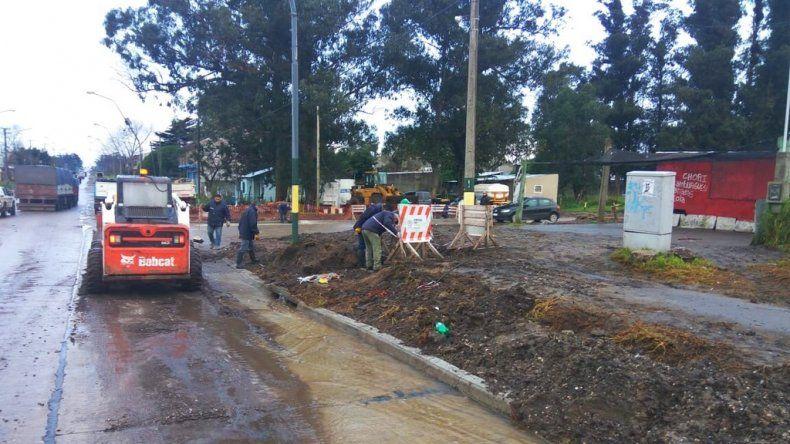 Tramo final de la obra de asfalto en Mario Bravo y Cerrito