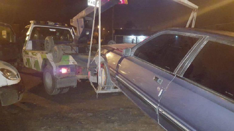 Chocó a un patrullero y un efectivo resultó herido: manejaba borracho