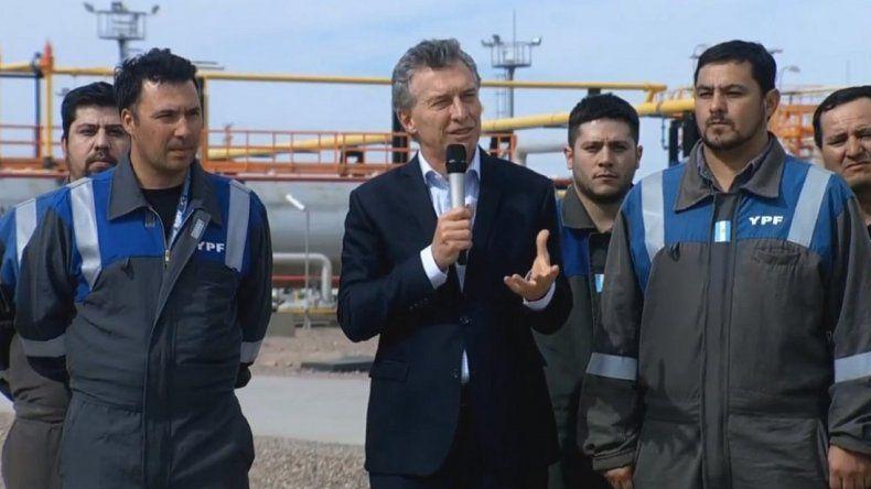 """Macri: """"Seguimos enfrentando tormentas, pero no vamos a parar"""""""