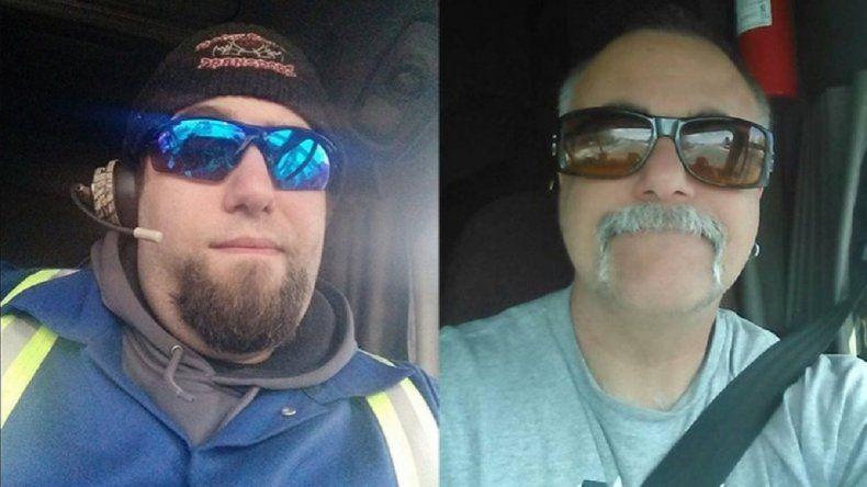 Son compañeros de trabajo y por Facebook descubrieron que son padre e hijo