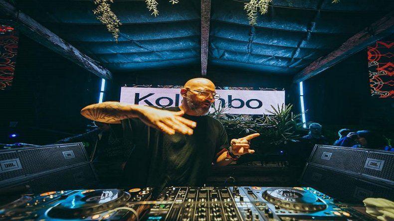 Kolombo llega a la ciudad para inaugurar los shows en la playa