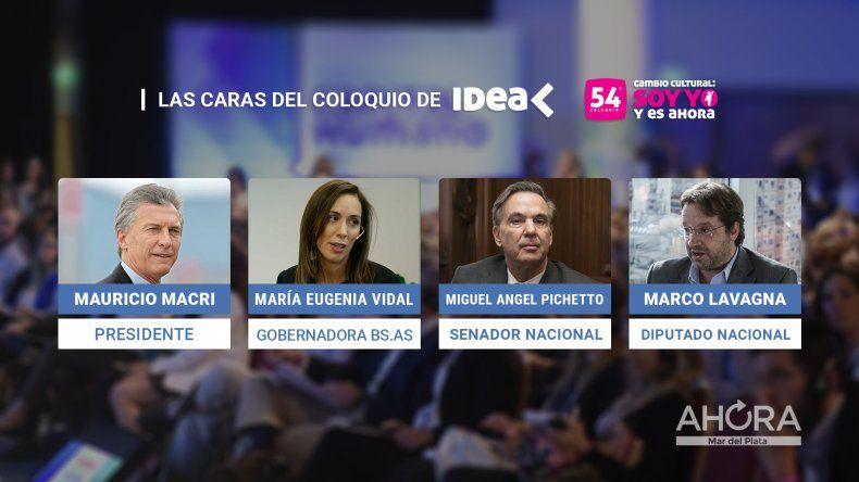 Vidal llega a Mar del Plata para abrir el Coloquio de IDEA