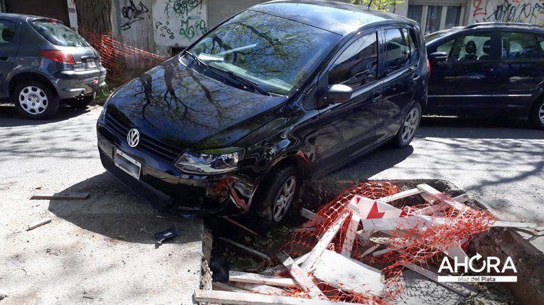 Video: cayó con su vehículo a un pozo en Gascón y España