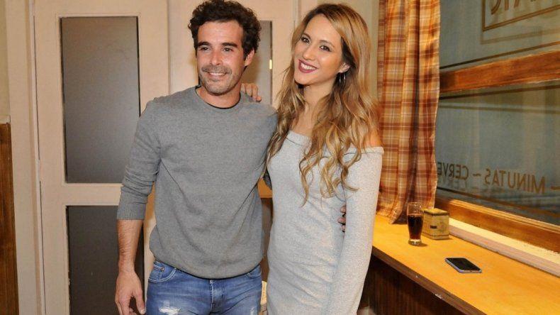 La foto de Nicolás Cabré y Flor Vigna en la cama