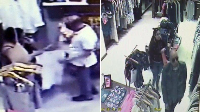 Video: así roban en un local de Güemes y Rawson