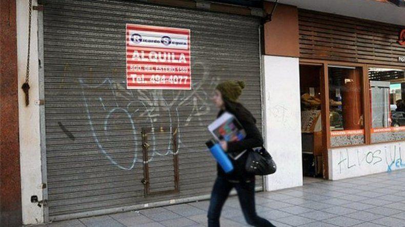 En lo que va del año, cerraron cerca del 20% de los comercios de Mar del Plata