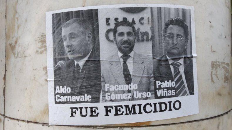 Escracharon a los jueces del caso Lucía Pérez