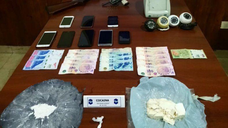 Vendían droga y monitoreaban con cámaras los movimientos del barrio: tres detenidos