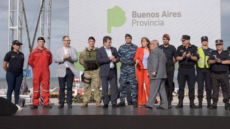 """Arroyo: """"La idea es que los turistas y marplatenses se sientan protegidos"""""""