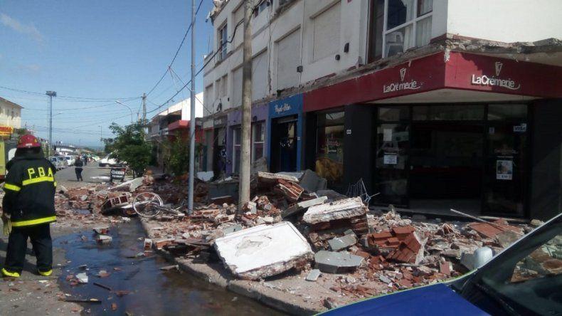 La estructura del edificio de la tragedia, antes del derrumbe