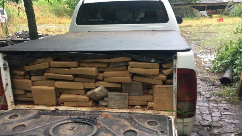 Secuestraron más de mil kilos de marihuana que iba a ser comercializada en Mar del Plata y la zona