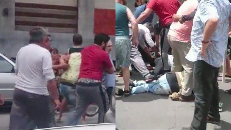 Video: así los vecinos atraparon a dos delincuentes en La Perla