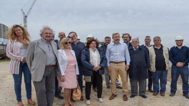 """Frigerio sobre arroyo del Barco: """"Estas obras son fundamentales para los marplatenses"""""""
