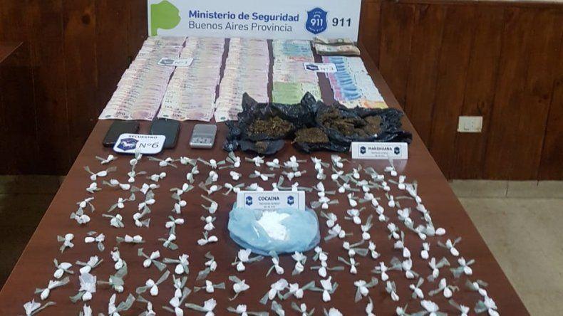 Detienen a tres mujeres por vender droga en el barrio Los Pinares