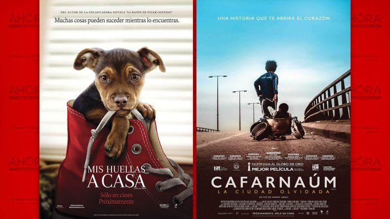 Cuatro películas renuevan la cartelera