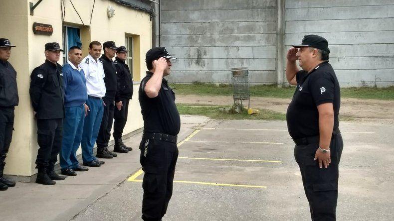 Asumió el nuevo director de la Alcaidía Penitenciaria Batán