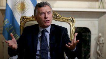 Macri: Me angustia que haya chicos que no tienen para comer