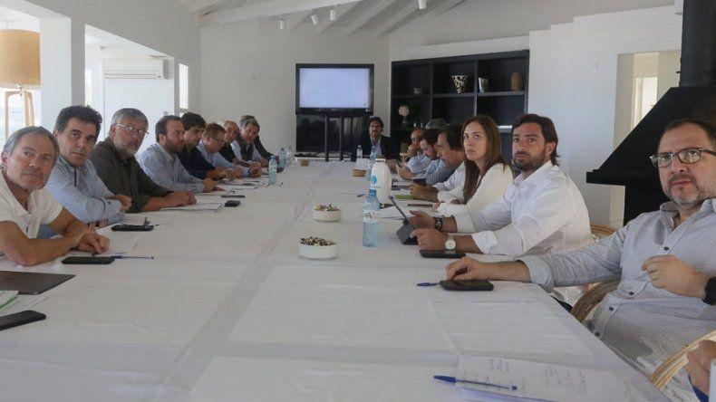 Vidal y sus ministros analizaron logros y planificaron el futuro
