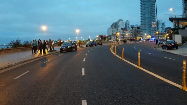 Trágico accidente en Playa Chica: el conductor de la moto quedó detenido