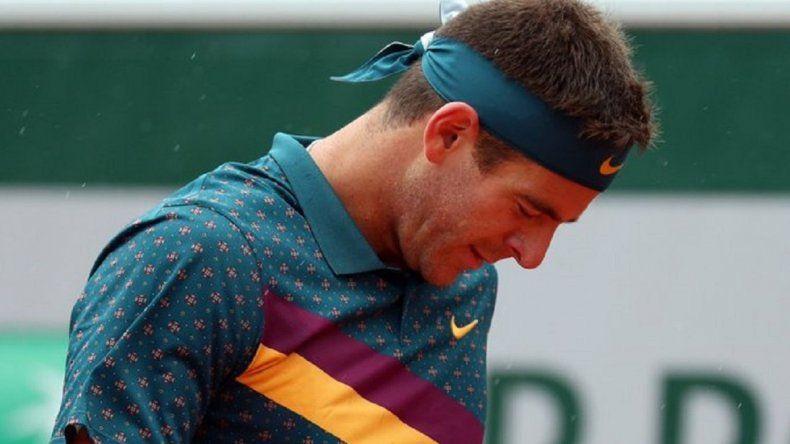 Del Potro cayó ante Khachanov y se despidió de Roland Garros