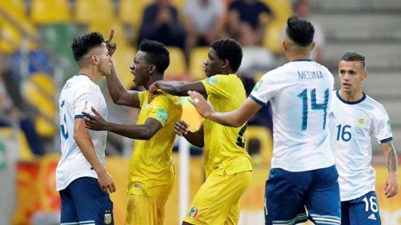Sub 20: Argentina cayó ante Mali en los penales y se quedó afuera