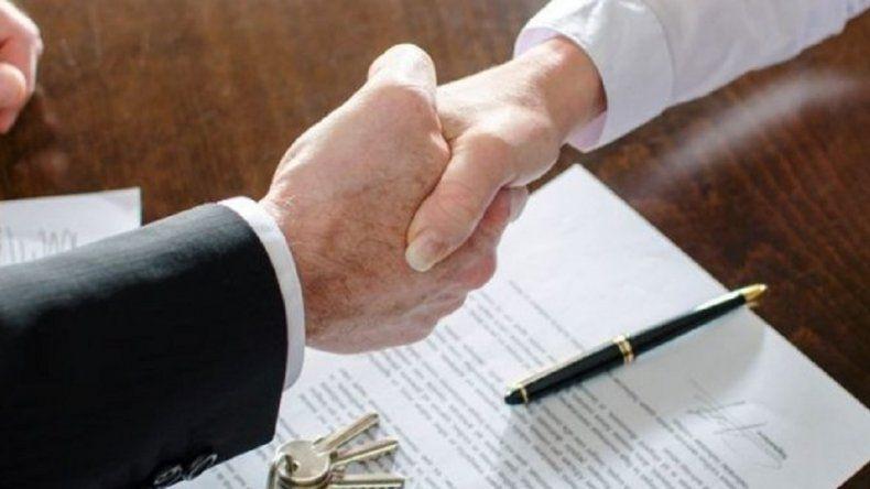 Las escrituras de compraventa de inmuebles cayeron 46% durante mayo en Capital Federal