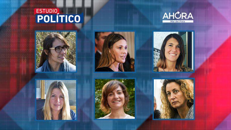 Candidatas y dirigentes de Mar del Plata analizarán la actualidad en Estudio Político