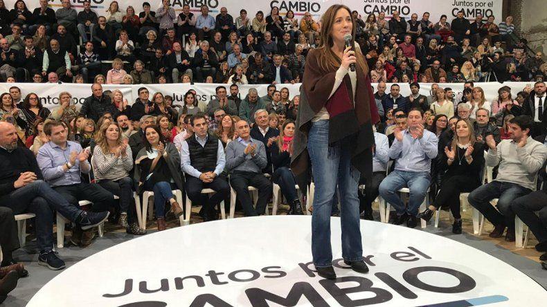 Vidal prepara  para el 26 el gran acto de campaña de Juntos por el Cambio en Mar del Plata