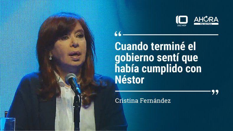 Las diez frases más relevantes de Cristina en Mar del Plata