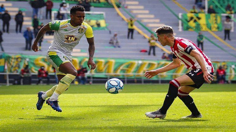 Estudiantes derrotó 1 a 0 a Aldosivi en La Plata