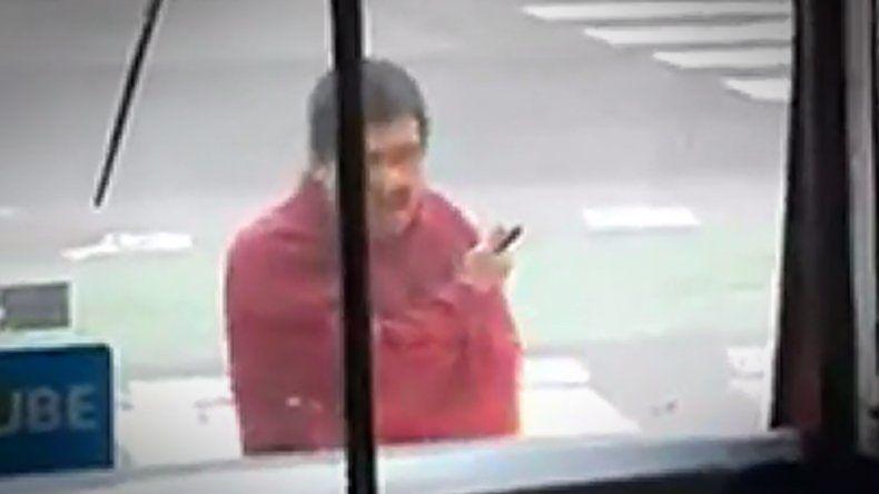 El video de la amenaza del hombre que murió tras una patada de un policía