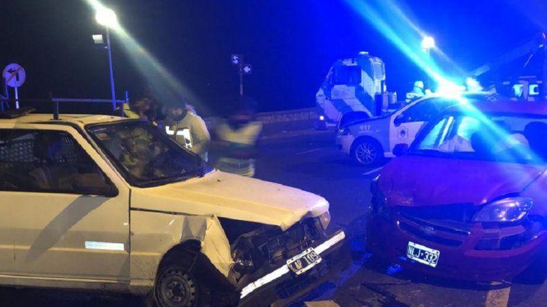 Conductores borrachos protagonizaron distintos accidentes durante la madrugada