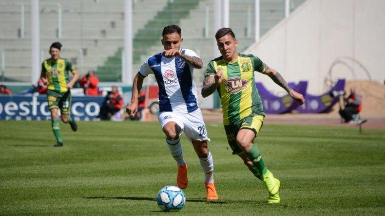 Aldosivi no supo sostener la diferencia y vuelve de Córdoba con otra derrota