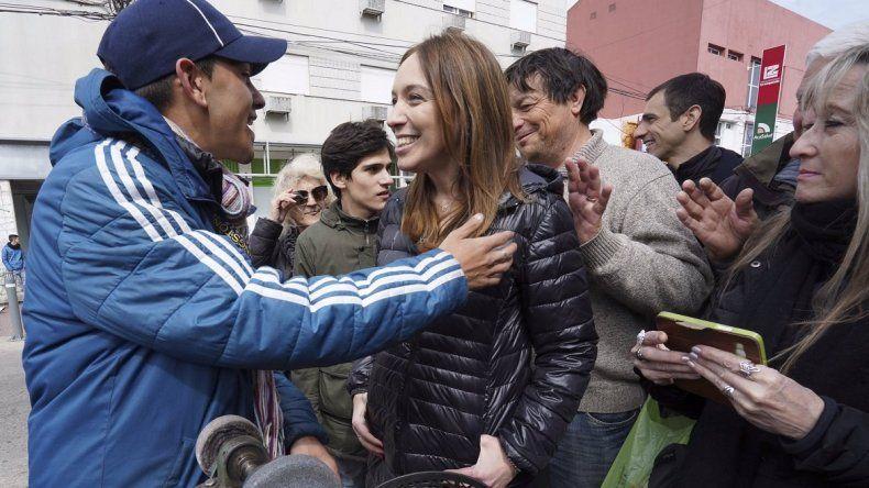 Vidal dejó un mensaje de optimismo durante una recorrida por Junín