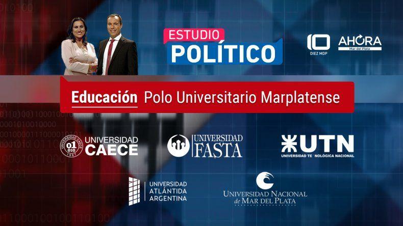 Referentes de universidades abordarán hoy los desafíos de la educación en Estudio Político